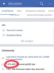 Facebook Likes kaufen